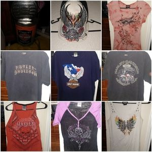 Shirts range from am to xl